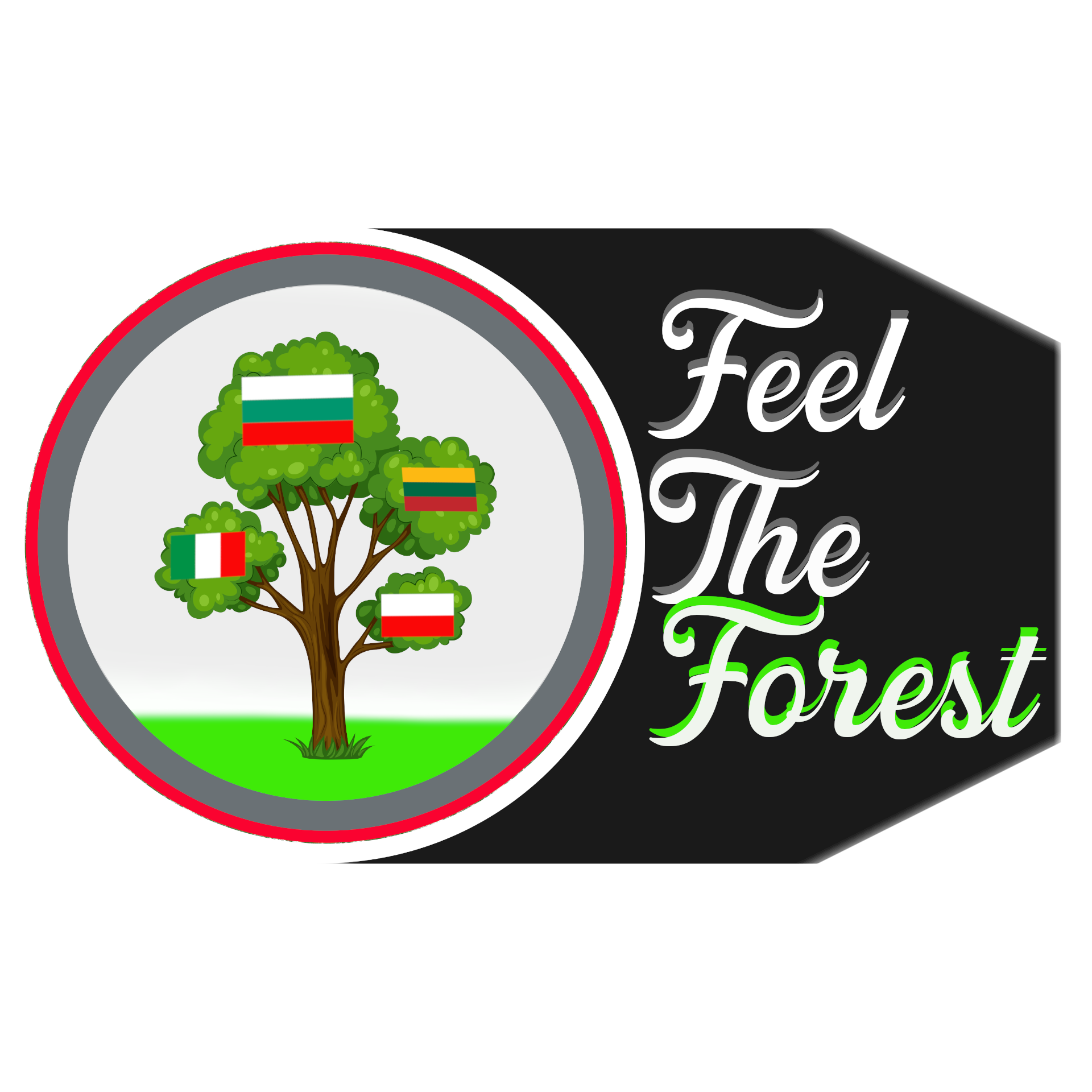 logo Feel the forest